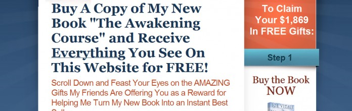 Book Launch: Joe Vitale – Awakeningcoursebook.com