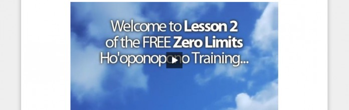 "Product Launch: Joe Vitale ""Zero Limits Online"""